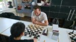 IM Lorenz Drabke gegen Leon Wu